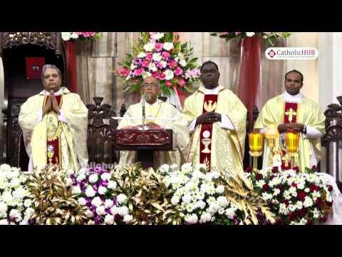 Feast Mass-Most.Rev.Bernard Moras(Archbishop of Bangalore)@SFX, Bangalore,KA,India, 04-12-16
