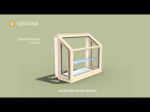 Series 2050 DP50-Rated Garden Window