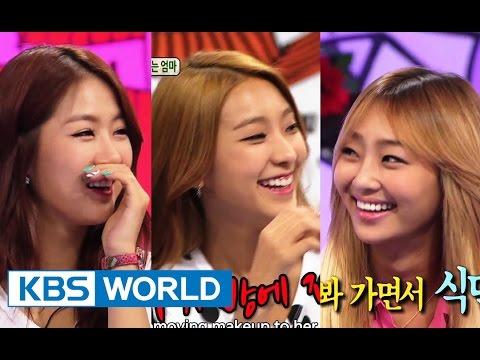 Hello Counselor - Bora, Hyolyn, Soyou & Dasom, SISTAR! (2014.08.11)