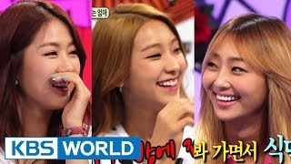 Hello Counselor - Bora, Hyolyn, Soyou & Dasom, SISTAR! (2014.08.11)