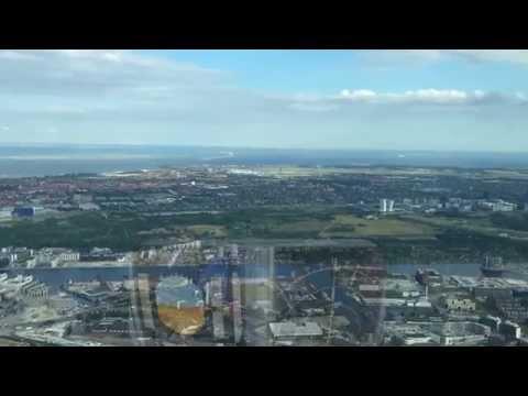 "a ""Why I Fly"" film - Copenhagen from the air. Rare Approach to RWY 12 ove the City"