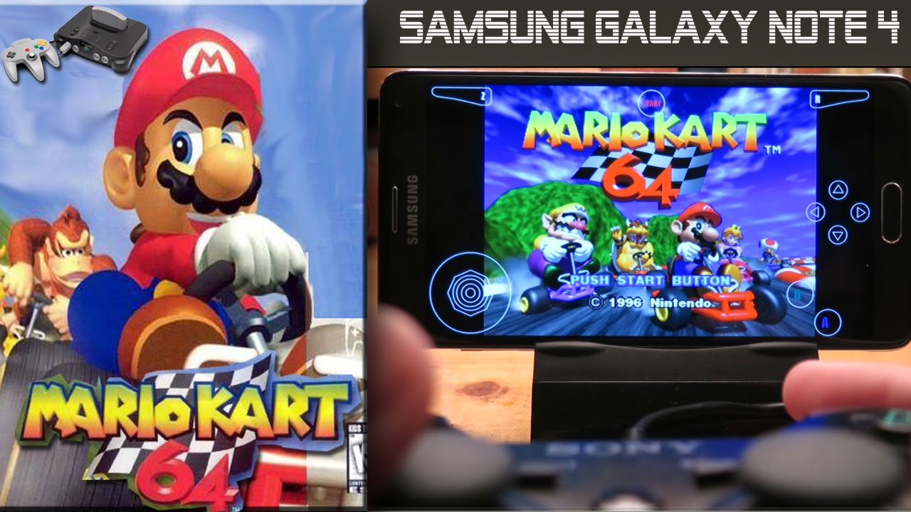 nintendo 64 emulator on samsung galaxy note 4 with sony. Black Bedroom Furniture Sets. Home Design Ideas