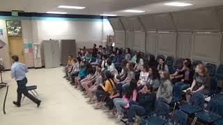 Dale Duncan Henderson Middle School Atlanta, GA 2018 Grammy Music Educator Video #3