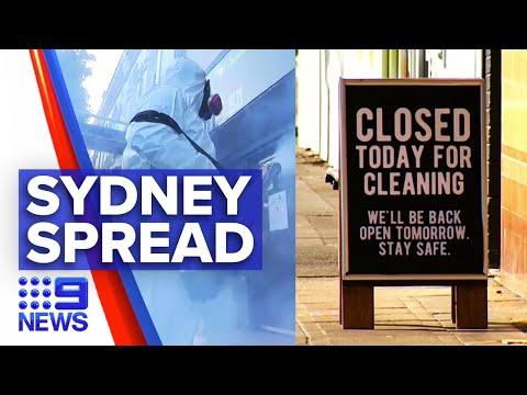 Coronavirus: NSW Health Alert As Venues Across Sydney Close | 9 News Australia