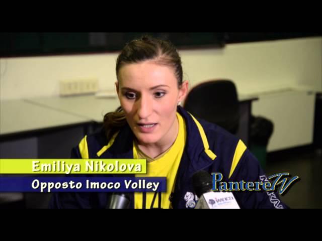 PALAVERDE. Imoco Volley Vs Rebecchi Piacenza. 26 dicembre 2014