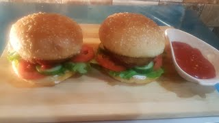 CHICKEN SPECIAL BURGER . HOW TO MAKE CHIKHEN BURGER AT HOME.