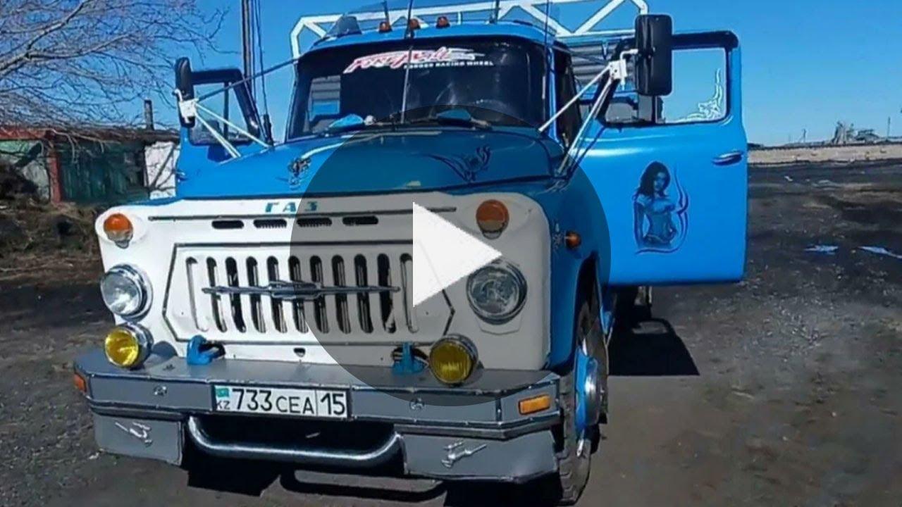 """Мужики доработали старенький """"ГАЗ-53"""" и сделали настоящий шедевр!"""