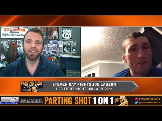 """UFN 108's Stevie Ray """"I want this fight more than Joe Lauzon, he's had his time"""""""