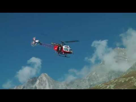 SA 315B Lama stunning operations in the mountains