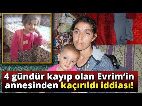 4 Gündür Kayıp Olan Evrim'in Annesinden Flaş İddia!