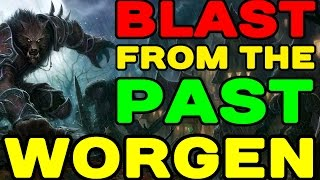 Blast from the Past: WORGEN (Gilneas Starting Area Play Through)