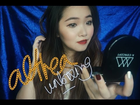 ALTHEA unboxing a concept set - first impression cushion and review all set