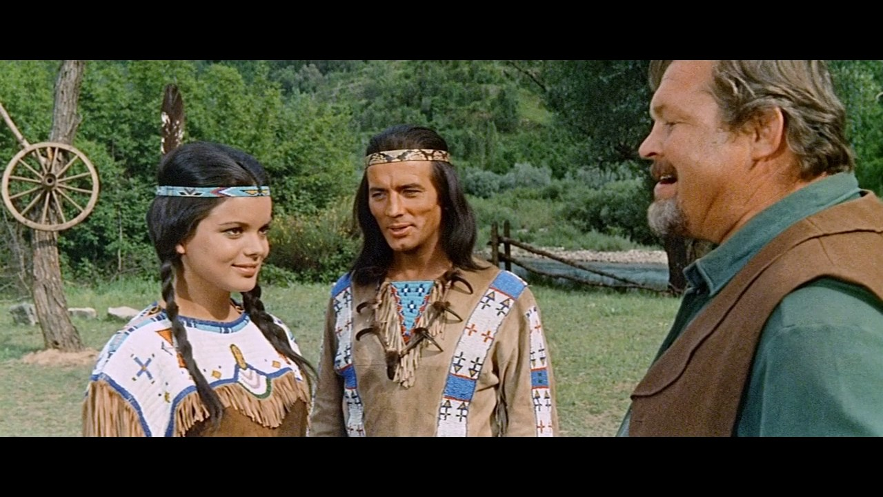 Half Breed Winnetou And Old Shatterhand English Audio Hd A Film