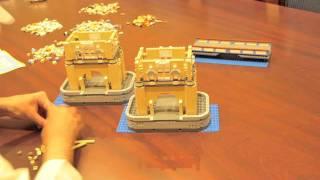 Lego 10214 Tower Bridge Time Lapse