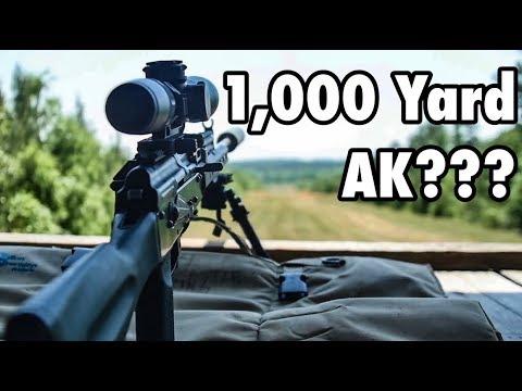 I Built A 1,000 Yard AK