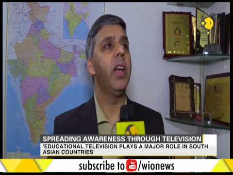 'Educational television plays a major role in South Asian countries'