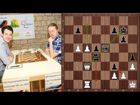 Playing The Best German Chess Player