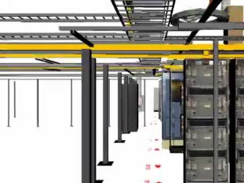 3D Scanning Data Center and Telecom Central Office CO