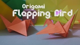How To Make Origami Flapping Bird - By Origami Artists