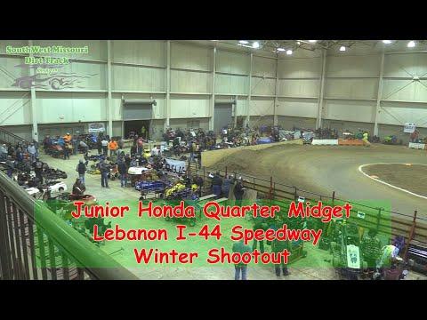 Junior Honda Quarter Midget- I-44 Speedway Winter Shootout 1-19-2018