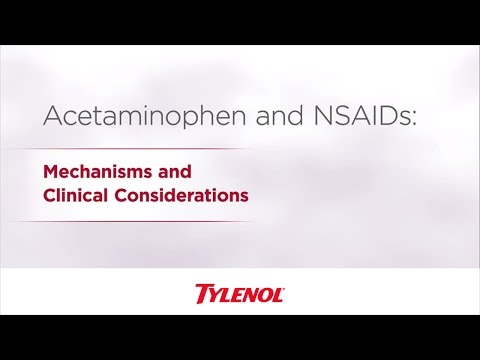 Acetaminophen & NSAID Differences   TYLENOL® Professional