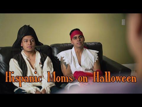 Hispanic Moms on Halloween  David Lopez