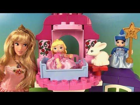 Belle au Bois Dormant Princesse Aurore Lego Duplo Jeu de Construction