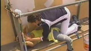Rebelde - Diego salva Roberta.