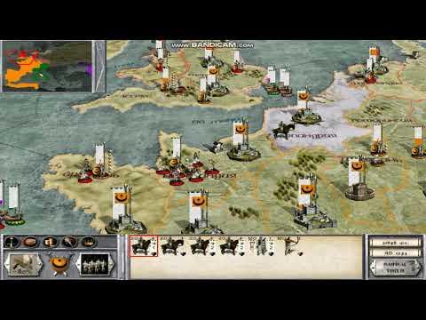 Medieval Total War. Фракция Альмохады 23-я серия Борьба за Мерсию.