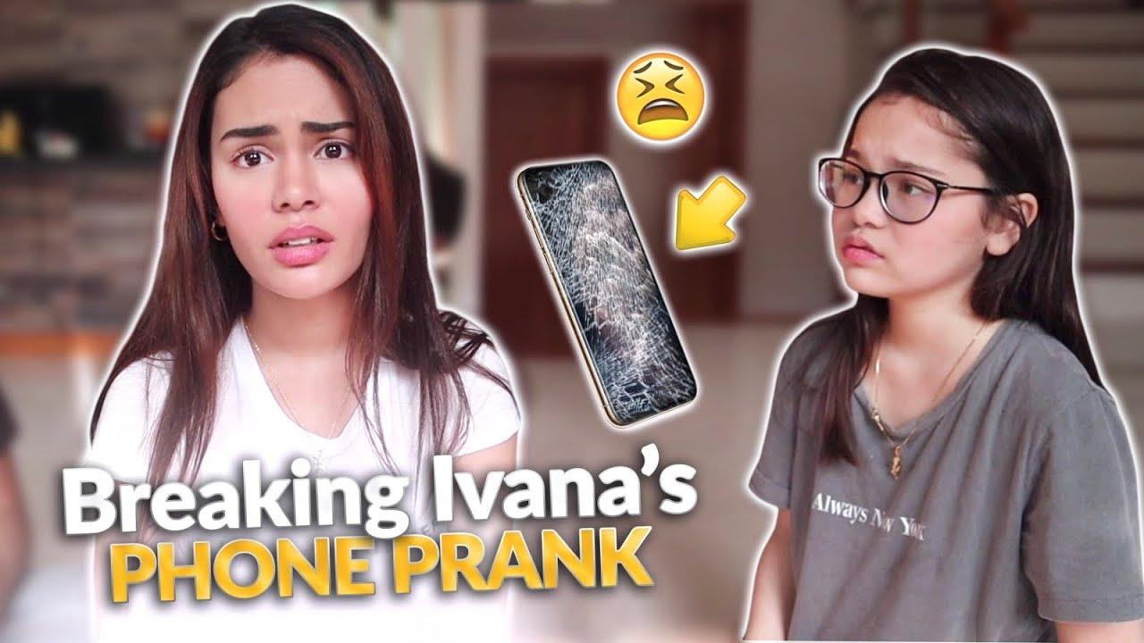 BREAKING IVANA'S PHONE PRANK! | IVANA ALAWI