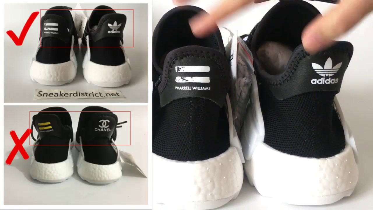save off 0a405 93f81 I got the Pharrel x Chanel NMD? | How to choose Humanrace NMD BEST UA|  REVIEW