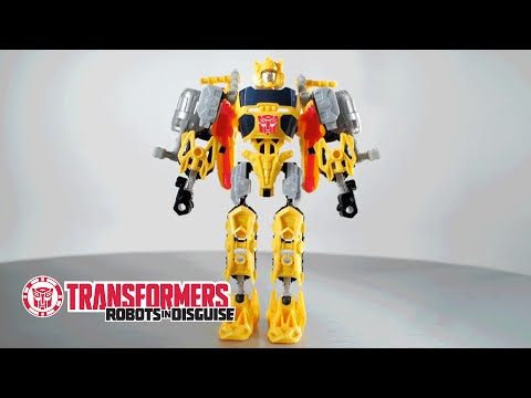 Transformers: Construct-Bots - Bumblebee Instructional Video