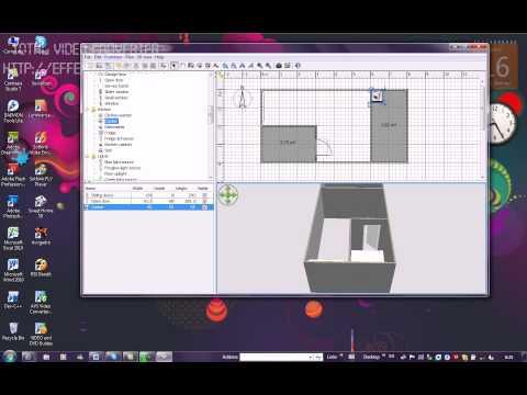 การใช้งานโปรแกรม SWEET HOME 3D