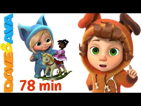 Thumbnail: ❤ Nursery Rhymes Collection | Rhymes for Children and Baby Songs from Dave and Ava ❤