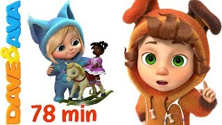 ❤ Nursery Rhymes Collection | Rhymes for Children and Baby Songs from Dave and Ava ❤