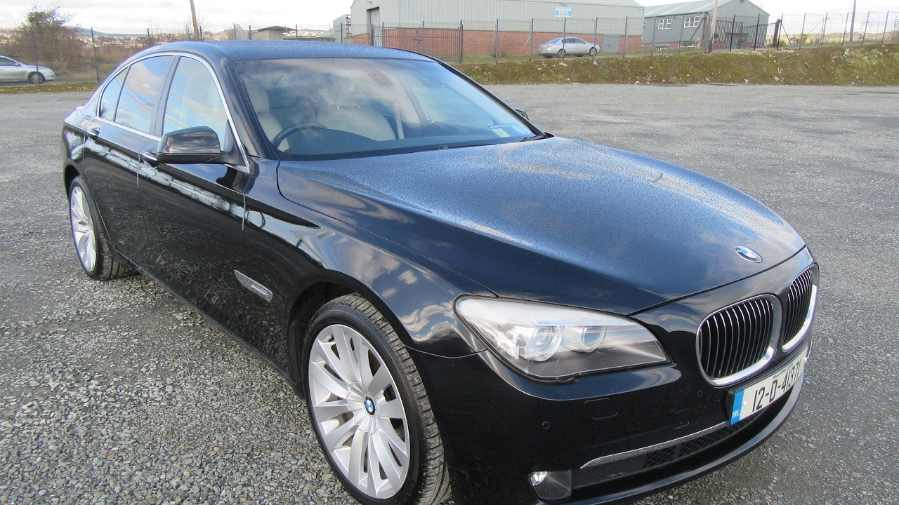 Review Test Drive 2012 Bmw 730d Se F01 Youtube