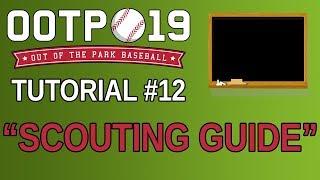 OOTP 19 Tutorial #12 - Scouting Guide