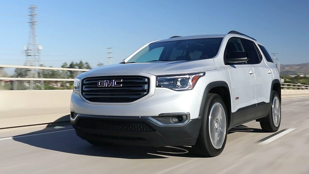 2017 Gmc Acadia Review And Road Test