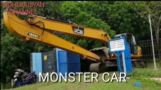 Excavator Monster || Alat Berat Pengeruk Tanah