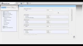 AudioCodes 420 HD Lync Phone web-based management