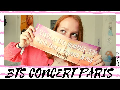 Reacting to my BTS concert videos (2019.06.07 @stadedefrance) (part1)