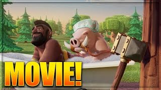 Clash of Clans Full Movie! W/ NEW Best Friends TV Commercial! (CoC 2016 Special)