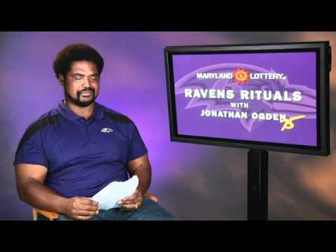 Ravens Rituals with Jonathan Ogden - Mike Paster