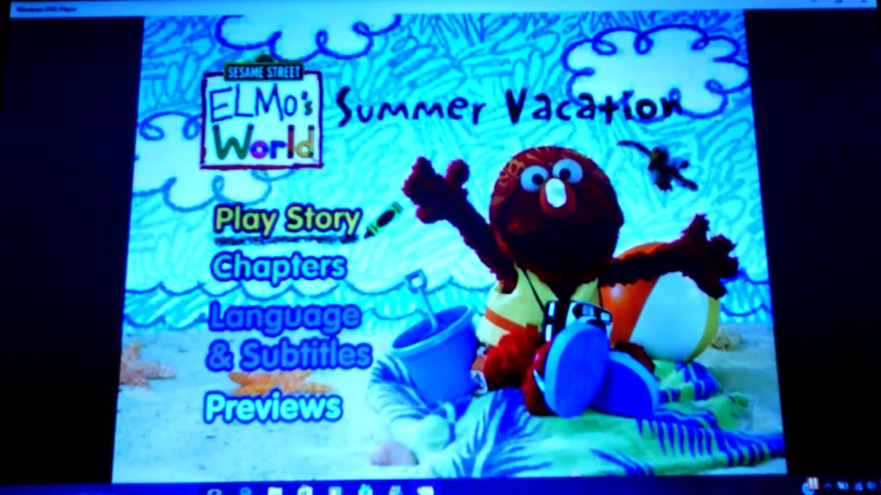 Elmos World Summer Vacation