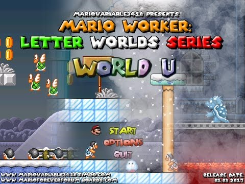 Mario Worker: Letter Worlds Series - World U