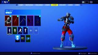 "NEW SKIN HEAD PARTY ""A.I.M."" MORE NEW BAILES ? FORTNITE ? SEASON 6"