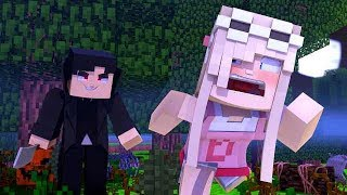 A HALLOWEEN CAMPUS KILLER ATTACKS THE STUDENTS! w/Little Carly (Minecraft Roleplay).