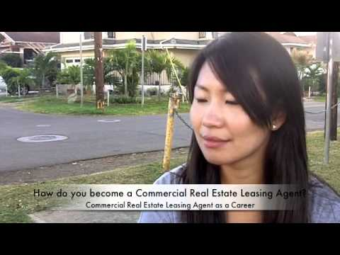 becoming a commercial real estate leasing agent
