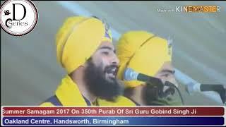 Tere Nain Naksh att sunder Ne||Kavishari || Bhai Mahal singh||350th Purab||Oakland Centre