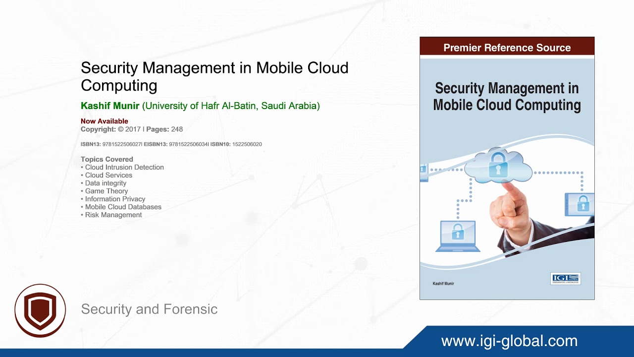 Security Management in Mobile Cloud Computing: 9781522506027